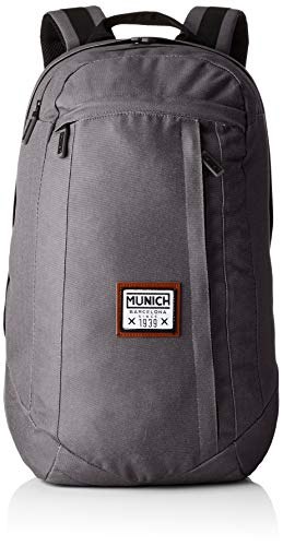 Munich Backpack, Mochila Unisex Adulto, Negro (Black) 19.0x47.0x33.0 cm (W x H x L)