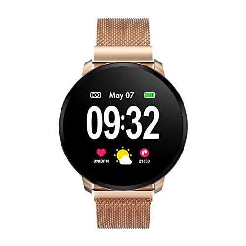 Smartwatch Fashion Hombre Mujer Impermeable Reloj
