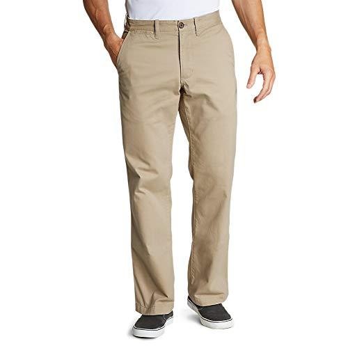 Eddie Bauer Men's Legend Wash Chino Pants - Classic Fit, Saddle Regular 40/30