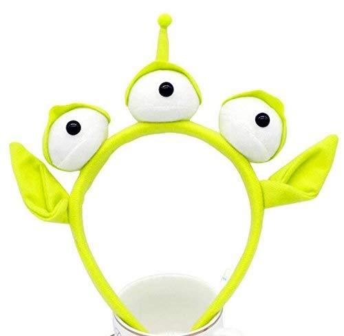 Xiao-mask – Diadema Divertida con Tres Ojos de Felpa para niños, Accesorio de decoración para el Pelo,…