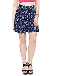 Malvina Girls Printed Short Skirts with Divider Shorts