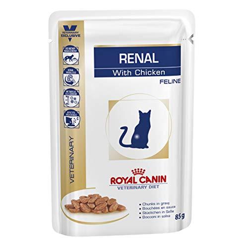 Royal Canin Vet Diet renal frischebeutel 48 x 85 g Chicken Katze