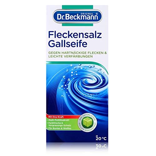 Dr. Beckmann Fleckensalz | gegen hartnäckige Flecken und leichte Verfärbungen | für die Waschmaschine und zum Einweichen | mit Gallseife (500 g)