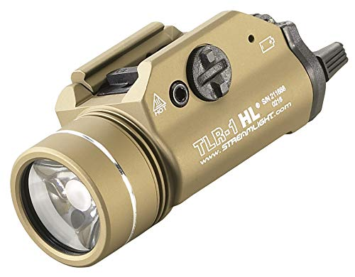 Streamlight 69266 TLR1HL High Lumen RailMounted Tactical Light Flat Dark Earth  800 Lumens