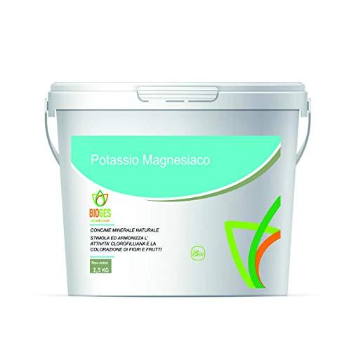 Bioges Solfato di POTASSIO con Sale di MAGNESIO da 2,5 kg