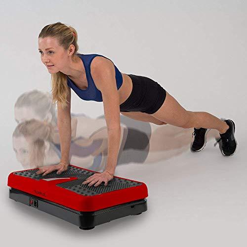 Pedana vibrante, tecnologia innovativa vibrazione, Facile da perdere peso, 200W, 9 modalità