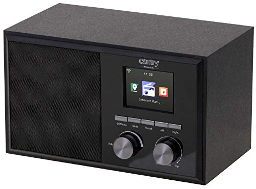 Internet Radio | Digitalradio | DAB WLAN Radio | +20.000 Radiosender weltweit | 2,4 Zoll TFT LCD Display | Sleeptimer | Wecker | Digitales Radio | Timer | Radiowecker | Uhrenradio