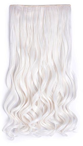 OneDor Curly 3/4 Full Head Synthetic Hair Extensions