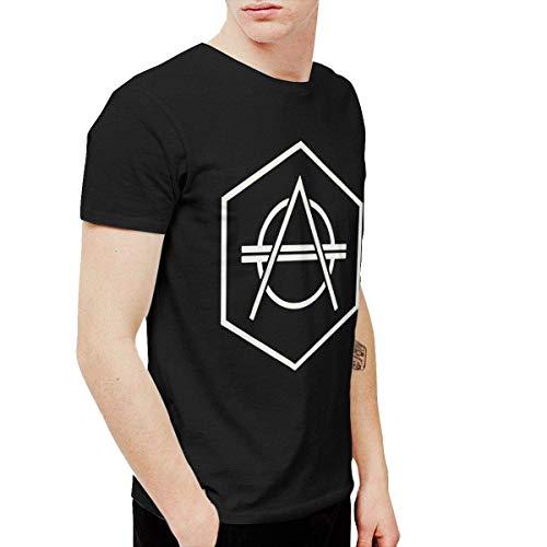DeATfr Don Diablo Men's Fashion Short Sleeve T-Shirt Black,Black,Large