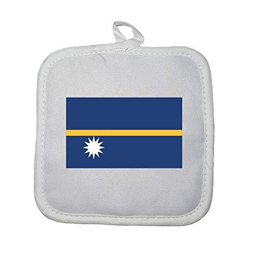 Mygoodprice Ofenhandschuh, Motiv Flagge Nauru