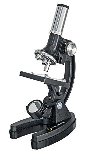 National Geographic 900X Smartphone Hold Mikroskop mit Koffer und Fotozubehör schwarz