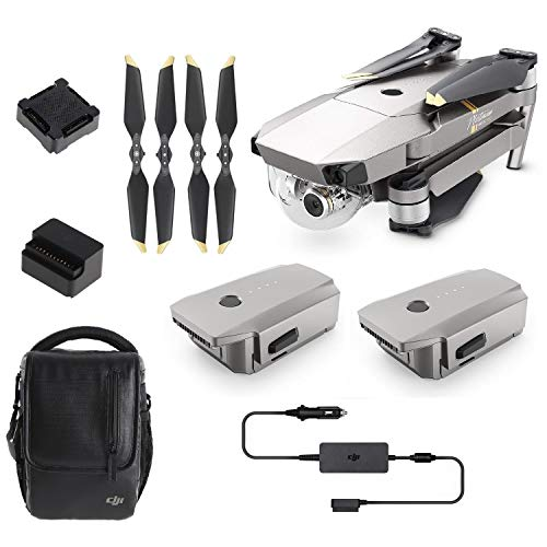 DJI Mavic PRO Combo Drone Portable 3-Axis Gimbal & 4K Camera, Enhanced Resistenza di Fascia Alta Perfomance dei voli -