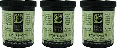 Lustro Italiano Etch Remover 3- Ranking TOP1 Max 65% OFF 8-Ounce
