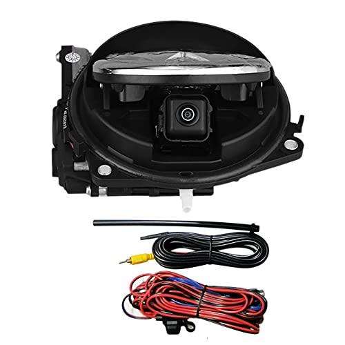 Binogram CáMara HD de Estacionamiento Inverso, Interruptor de Maletero, CáMara de VisióN Trasera Giratoria para B8 B6 B7 MK7 MK5 MK6-