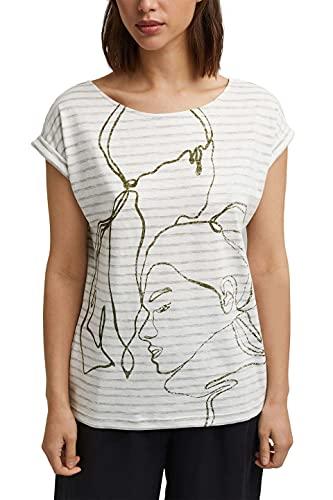 ESPRIT T-Shirt mit Print, 100% Organic Cotton