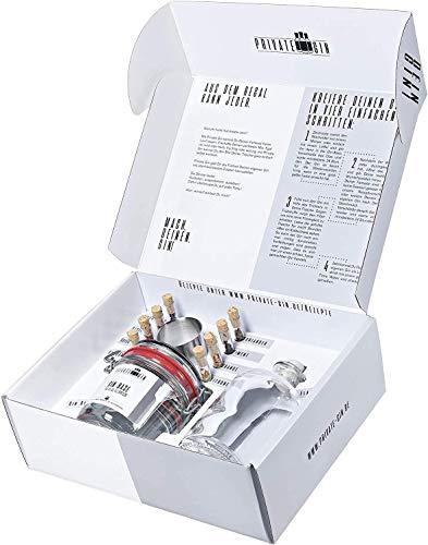 Private-Gin selbermachen - Gin Baukasten - All inclusive Set - Geschenk für Männer - Gewürze und Basis (1 x 450ml)