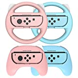 Joycon Grips for Nintendo Switch and Steering Wheel...
