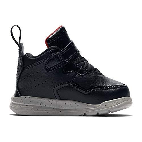 Nike Jordan Courtside 23 Bt - black/gym red-particle grey, Größe:2C