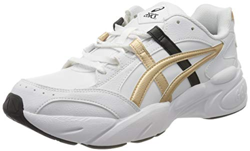 ASICS Damen Gel-BND Volleyball-Schuh, White/Champagne, 39.5 EU