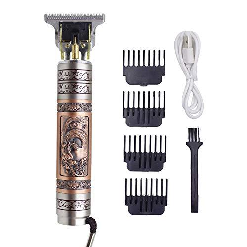XINGYUE Cortapelos inalámbricos profesional, profesional eléctrico cortadora de pelo para hombre, corte de pelo, corte de pelo, máquina de corte de pelo recargable
