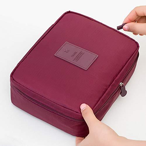 YOLK Bolsa de cosméticos para mujer, bolsa de maquillaje, organizador de viaje, para almacenamiento de artículos de aseo
