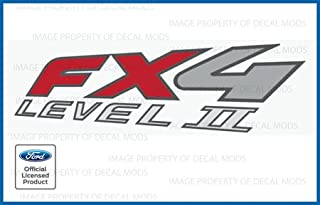 Decal Mods FX4 Level 2 Decals Stickers for Ford Ranger - F (2002-2009)