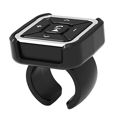 KESOTO BT009 Coche Volante Montaje en Bicicleta Control Remoto Bluetooth Botón de Medios MP3 para iOS/Android, IPX4 Impermeable