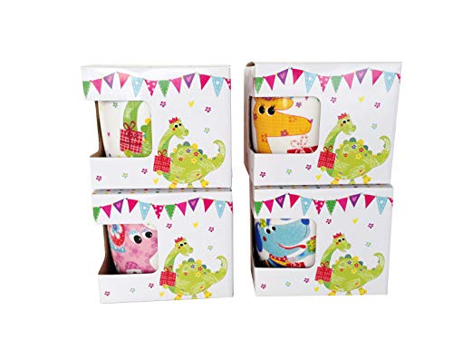 DISOK - Taza En Caja De Regalo Safari - Tazas Originales Baratas para Regalos de Cumpleaños, Recuerdos de Comuniones