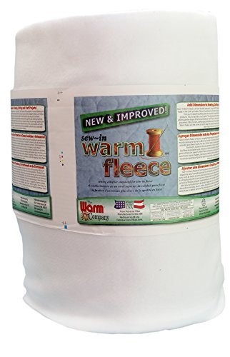 The Warm Company 1880 Fleece, Volumenvlies zum Einnähen 91 x 114 cm, 100% Polyester