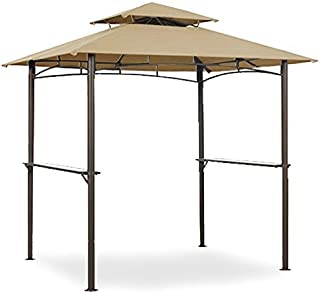 Garden Winds LCM1149B Grill Gazebo L-GG019PST Replacement Canopy, Beige