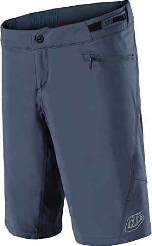 Troy Lee Designs Pantalón Corto Mtb Mujer 2018 Skyline Slate (L, Azul)