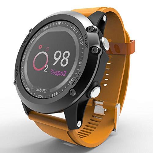 Reloj inteligente deportivo IP68 impermeable monitor de ritmo cardíaco fitness Tracker pulsera monitor de sueño contador de pasos Smartwatch para mujeres y hombres-C