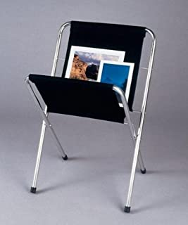 Small Folding Canvas Print Display Rack with Aluminum Legs
