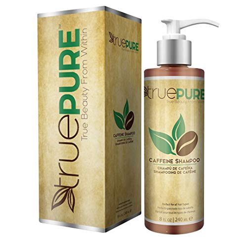TruePure Natural Caffeine Shampoo | Fragrance Free & Sulfate Free Treatment For Healthy Hair Growth...