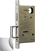 Baldwin 8602.STR Pocket Door Strike Plate from the Estate Collection, Lifetime Polished Nickel