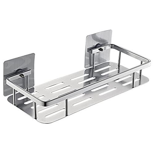 zxb-shop Estantería Ducha Caddy Organizer para Colgar maquinanza de Afeitar y Esponja Cesta de baño Adhesivo Estante de Ducha de Almacenamiento Rack de Cocina Sin perforación (Size : Thicker Section)