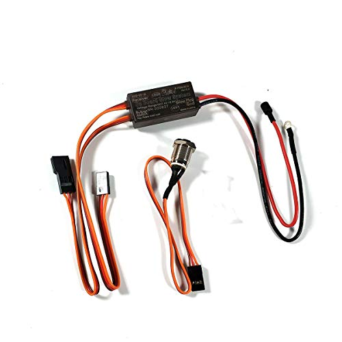 RCEXL On Board Glow System for Nitro Engine New Version w/Heat Sink and Cover