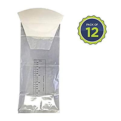 Primacare Medical Supplies CB-7142 Disposable Vomit Emesis Bag, Pack of 12 from Primacare