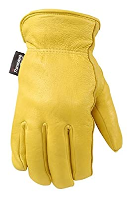 Women's Deerskin Winter Work Gloves