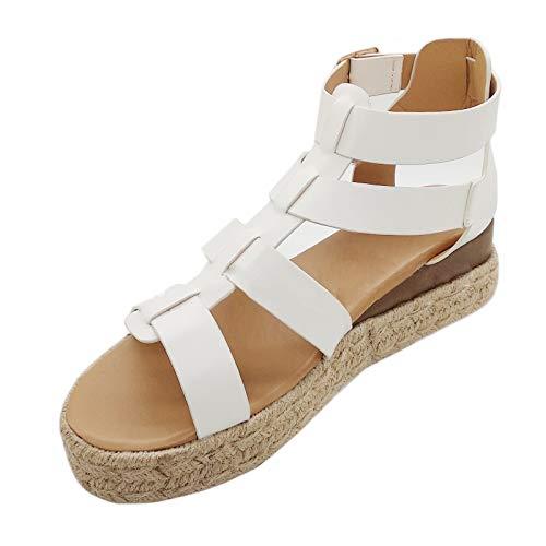 Sandalias para Mujer de Malla Velcro Deportivo de Calzado Casual Ligero Respirado Ligero Running Zapatillas Sacudir Zapatos de Mocasines Verano mujer sandalias