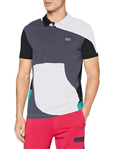 BOSS Paddy 3 Polo, Blanc 100, XL Homme