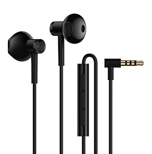 Xiaomi ZBW4407TY Original BRE01JY - Auriculares In-Ear (Controlador Dual), Color Negro, 15 x 1400 x 20 mm