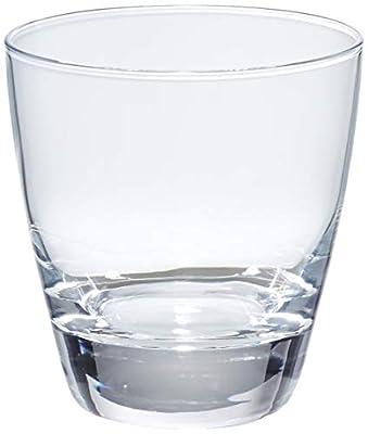 AmazonBasics Eastlake Old Fashioned Glass Drinkware Set, 10.75-Ounce, Set of 6