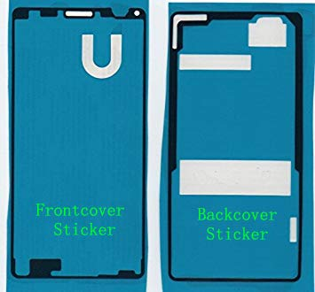 Flügel für Sony Xperia Z3 Compact Mini D5803 Front + Rückseite Backcover doppelseitiger Kleber, Klebefolie Adhesive für Display und Rückseite