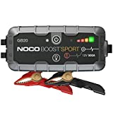 NOCO Boost Sport GB20 500A 12V UltraSafe Starthilfe Powerbank, Tragbare Auto Batterie Booster,...