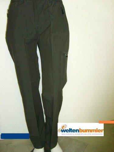 Hot-sportswear Benia Pantalon de loisirs pour femme Kaki Taille 36
