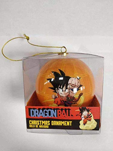 lobcede.be Kinton Bola Navidad Dragon Ball Official Merchandising Adornos Muebles Pegatinas Decoración del hogar Unisex Adulto, Multicolor (Multicolor), única