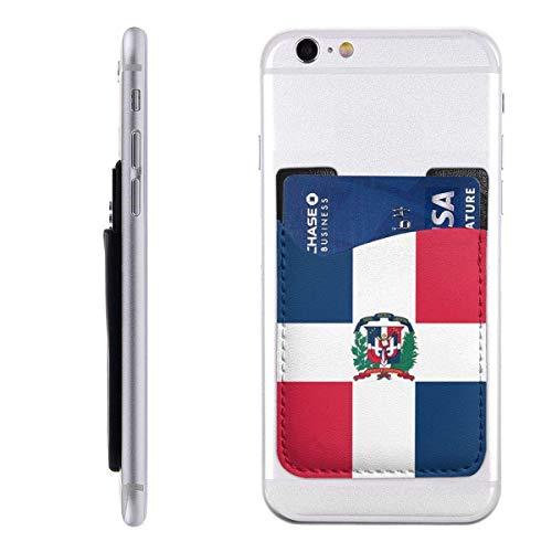 Anqi-Shop Audioconferencia y réplica Paquete de Tarjeta de teléfono móvil Bupa Dominicana PU 2.4 'X 3.5' 3m Adhesivo Adhesivo para Soporte Mochila Mochila Cartera Popwallet