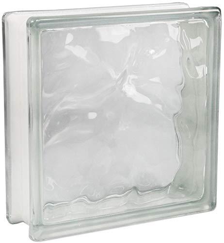Fuchs Design 5 Stück Glassteine Wolke Klar glänzend 24x24x8 cm
