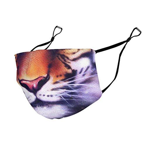 Caixiabeauty Tiger - Protector bucal con trabillas para los oídos, re